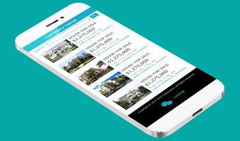 房产经纪手机网站设计项目